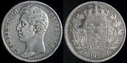 Charles X (1824-1830) - 2 francs 1826 L