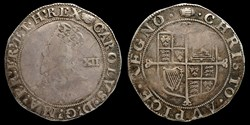 Charles I (1625-1649) - shilling