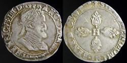 Henri IV (1589-1610) - Demi Franc 1601 M