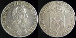 Louis XIII (1610-1643) - Quart d'ecu d'a...