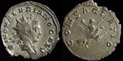 Valerian II, Antoninianus