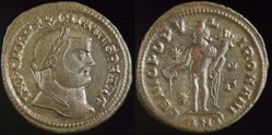 Maximianus, Follis