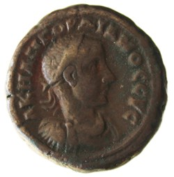 Gordien Auguste an 4 Hermanubis