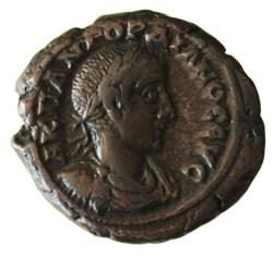 Gordien Auguste an 5 Tyche