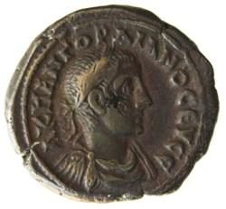 Gordien Auguste an 4 Tyche