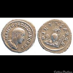 Denier Gordien Caesar 6 éléments