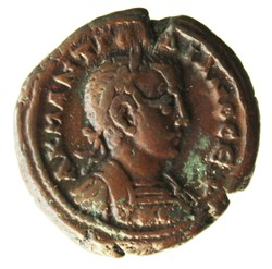 Gordien Auguste an 6 Athena