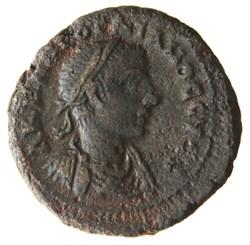 Gordien Auguste an 4 Selene (Buste)