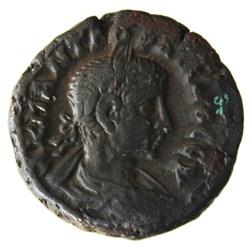 Gordien Auguste an 7 Hermanubis (buste)