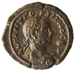 Gordien Auguste an 7 Nilus (Buste)