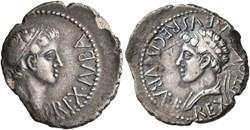 Denier - JUBA II & Ptolémée (22 à 24 apr...