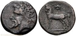 Numidie Quart d'unité de bronze - Masini...