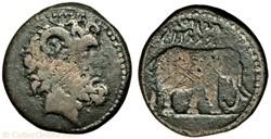 Unité de bronze - JUBA Ier (60-46 avant ...