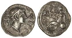 Denier - JUBA II (23 après J.-C.)