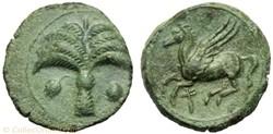 Carthage : Unité de bronze 330 à 300 ava...