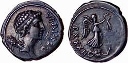 Denier - JUBA II (7 après J.-C.)