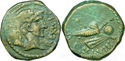 Unité de bronze - JUBA II (23 après J.-C...