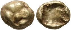 Royaume de Lydie : 1/24 stater - 620 à 5...
