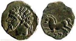 Numidie Unité de bronze - Masinissa (202...