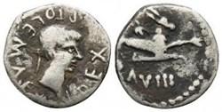 Denier - Ptolémée (27 après J.-C.)
