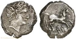 Quart de Shekel - Hiempsal II (88-60 ava...
