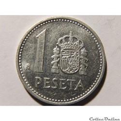 Espagne, 1 peseta de 1987