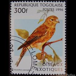 Togo 01513 Linotte mélodieuse 300F de 19...