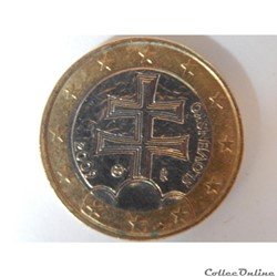 Slovaquie, 1 euro de 2009