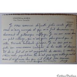 carte postale france picardie cpa de la somme longpre les amiens