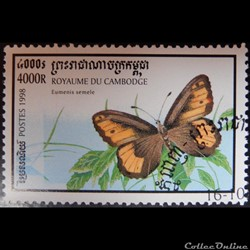Cambodge 01553 papillon Agreste 4000R de 1998