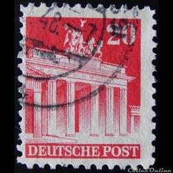 Allemagne Occupation 0052 porte de Brand...