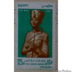 Egypte PA0269 statue du roi Tut-Ankh Amu...