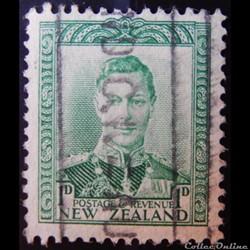 Nouvelle-Zélande 00238A roi George VI 1p de 1941