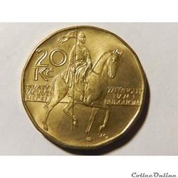 R. Tchèque, 20 korun de 2014
