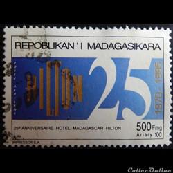 Madagascar PA0214 Hilton 500FMG de 1995