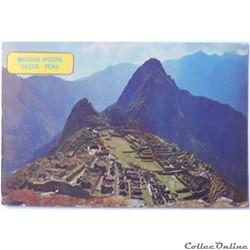 CP du Pérou, Macchu Picchu, Cuzco