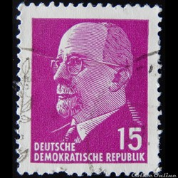 Allemagne RDA 00563 Walter Ulbricht 15pf...