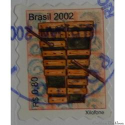 Brésil 02820 Xylophone 0.80R de 2002