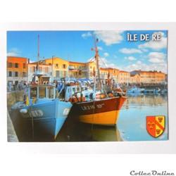 CP de Charente-Maritime, l'île de Ré