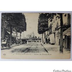 CPA du Val-de-Marne, Vitry-sur-Seine, Av. du chemin de fer