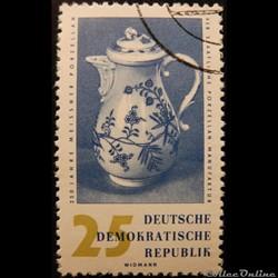 Allemagne RDA 00494 porcelaine 25pf de 1...