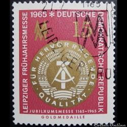 Allemagne RDA 00795 médaille d'or du sal...