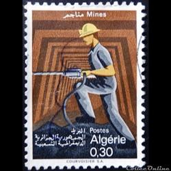 Algérie 00481 mineur 0.30d de 1968