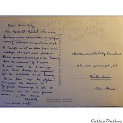 carte postale france basse normandie cpa de la manche le mont saint michel