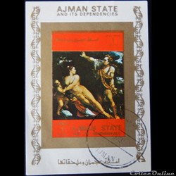 Ajman State 02555BBL Vénus, Adonis et Cu...