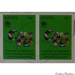 Kenya 00954 40ans de l'UNEP 30Sh de 2012