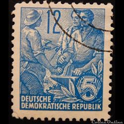 Allemagne RDA 00153 artisan, agriculteur...