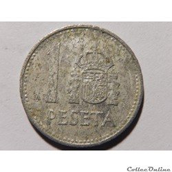 Espagne, 1 peseta de 1983