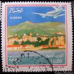 Algérie PA0022 avion au-dessus de Bejaia...