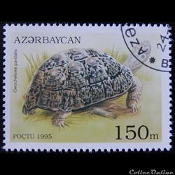 Azerbaïdjan 00217 Tortue léopard 150m de...